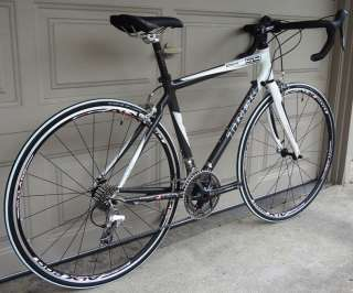 TREK OCLV CARBON 110 ROAD BIKE ULTEGRA 105 FSA 54CM BLACK WHITE PICS
