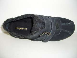 EASY SPIRIT Grays Suede Athletic Womens Shoes Size 7W
