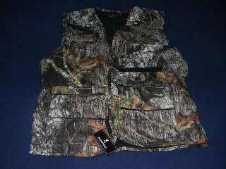 BROWNING MICROFLEECE VEST MOSSY OAK BREAK UP CAMO L XL XXL