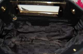 New MICHAEL KORS Items Black Berkley Leather Clutch Handbag $198