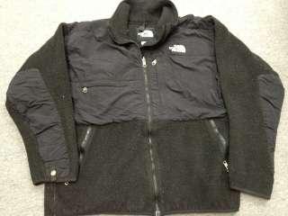 The North Face Denali Vented Fleece Jacket Sweater Mens Large L Black