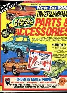 PARTS & ACCESSORIES Cars Vans Trucks RV Catalog 1988