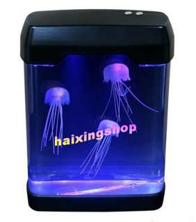 Christmas gift Magic LED Light Jellyfish Aquarium