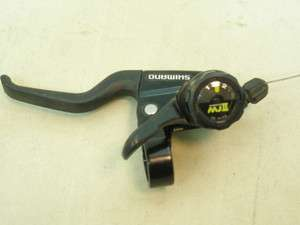 SHIMANO HI/LOW SHIFTER W/CABLE BRAKE LEVER MOUNTAIN BICYCLE BIKE PARTS