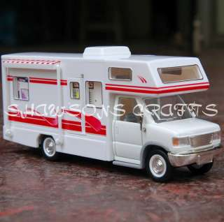DIE CAST PULL BACK RECREATIONAL VEHICLE CAMPER VAN