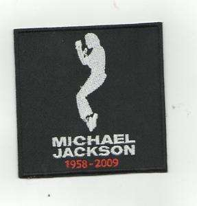 MICHAEL JACKSON TRIBUTE IRON ON PATCH BUY 2 GET 1 FREE