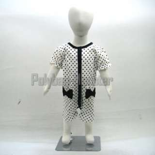 Display Fabric Mannequin Children Dress Form 77cm #P2