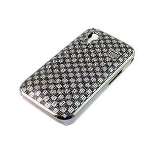 Oberschale Gehäuse Cover Case Samsung Galaxy Ace S5830 Chrom Schwarz