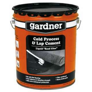 Gardner 4.75 Gallon Rolled Roof Adhesive 0365 GA at The Home Depot