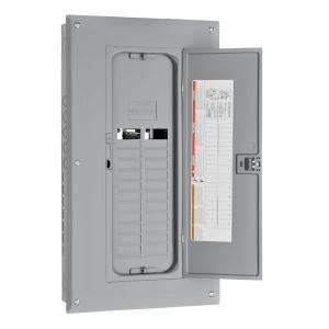 Square D by Schneider Electric 125 Amp 20 Space 24 Circuit Main Lug