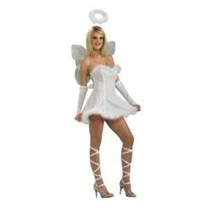 Innocent Angel Sexy Girls Women Halloween Costume White