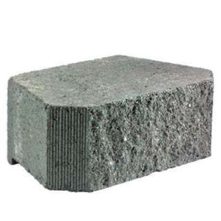 16 in. x 10 in. Concrete Garden Wall Block 83629