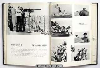 USS BRISTER DER 327 WESTPAC VIETNAM CRUISE BOOK 1968