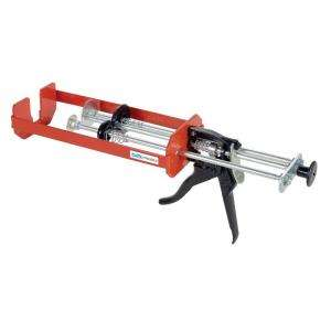 ./300ml. X 300ml., Dual Cartridge Low Viscosity Epoxy Applicator Gun