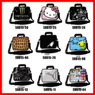 15 ~ 15.6 Laptop Notebook Bag Case Sleeve with Shoulder Strap