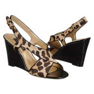 Womens Bandolino Thanku Tan/Black Leopard Shoes