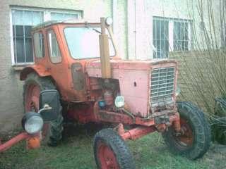 Traktor Belarus Schlepper MTS 50 in Brandenburg   Wutike  Anhänger