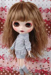 CoolCat, Custom Blythe Wigs ( D2 0422 03 ) Tea Brown