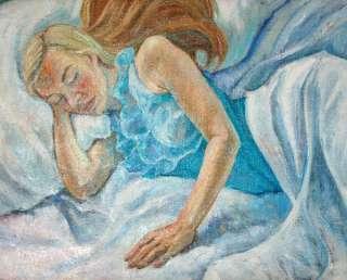 Gemälde Sexy Frau Modern Oil PAINTING WOMAN Leinwand Margarita Art