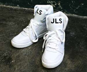 Mens High Top Sneakers Shoes SS032 White Sz Choice