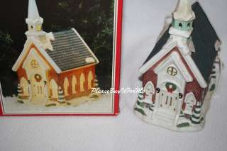 Dickens Collectable Christmas Village Church Lighted