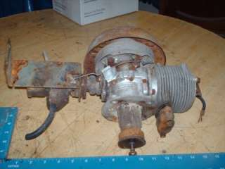 Vintage Go Kart cart power products 2 stroke gas engine motor