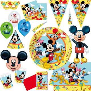 Disney Mick Maus Party Geburtstag Kindergeburtstag Mickey Mouse Donald