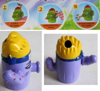 Cactus PVZ Plants vs Zombies Game Figure Burst Shooter Toy #8858