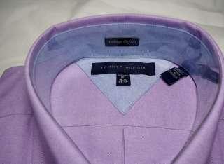 NEW $65 TOMMY HILFIGER OXFORD DRESS/CASUAL SHIRT RETRO LOGO VARIOUS