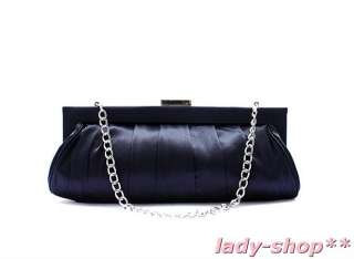 Navy Blue Ladies Wedding/Evening Clutch Bag New Handbag