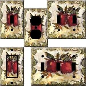 hn Tuscan Apples Light Switch Plate Cover switchplate