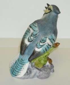 Vintage Royal Worcester Blue Jay Bird Figurine 3646 PB
