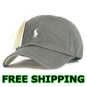 Polo Casual Outdoor Golf Sport Ball Cap Hat Gray
