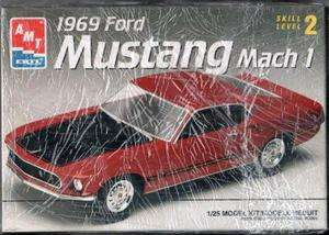 1969 Ford Mustang Mach 1 ERTL 1/25 Model Kit