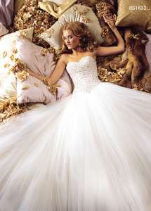 Wedding Dress prom Gown Custom Size 4 6 8 10 12 14 ​16 18 20 22