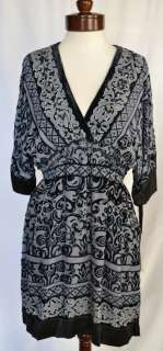Hale Bob Holiday Burnout Velvet Dress L 10 12 14 UK 14 16 18 NWT