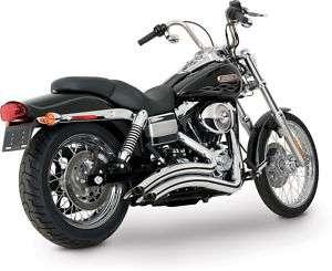 VANCE & HINES BIG RADIUS AUSPUFF Harley DYNA FXD 06 11