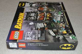 LEGO BATMAN 7785 ARKHAM ASYLUM NEW NISB NIGHTWING RIDDLER POISON IVY