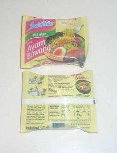 INDOMIE AYAM BAWANG Noodles FRIDGE MAGNET Indonesia