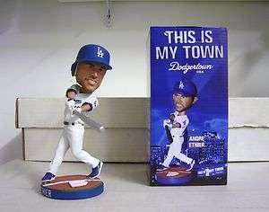 Andre Ethier SILVER BAT VARIANT Dodgers Super Star Bobble Bobblehead