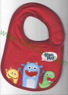 Monster toddler baby infants girl boy feeding bibs