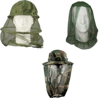 Military Army Government Issue Style Mosquito Head Net