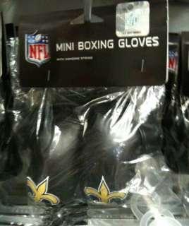 NFL 4 Mini Boxing Gloves   New Orleans Saints