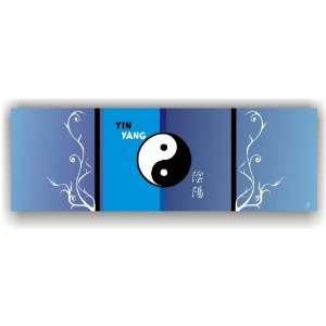 Bilder auf Leinwand mit China Sign Symbole 90 x 30 cm Modell Nr. KD