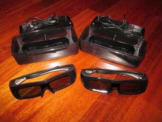 OEM Panasonic TY EW3D2M Active Shutter 3D Glasses