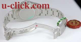 NEW* MENS ROLEX STAINLESS STEEL WHITE EXPLORER II 42MM #216570 NEW
