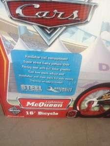 16 inch Boys Bike   Disney Pixar Cars the Movie   Lightning McQueen