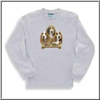 Basset Hound Puppies With Bone Dog Shirt S 2X,3X,4X,5X