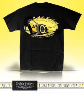Aesthetic Finishers Front Engine Dragster T Shirt