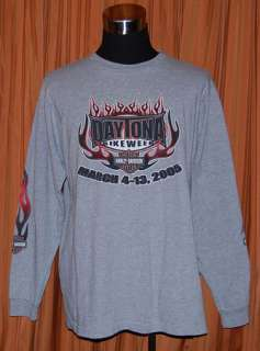 HARLEY DAVIDSON DAYTONA BEACH 2005 HD T SHIRT MENS XL